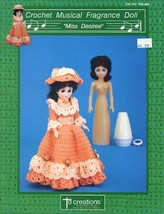 Miss Desiree Crochet Musical Fragrance Doll Outfit PATTERN - $2.22
