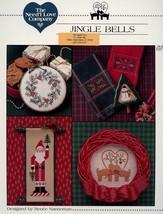 Jingle Bells, Santa Need'l Love Cross Stitch Pattern -30 Days To Shop & ... - $2.67