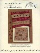 America Homespun Elegance CS 34 Cross Stitch Pattern Leaflet - $3.57
