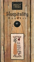 Hospitality Door Knocker Bent Creek Cross Stitch Kit NIP 30 Days to Pay! - $21.57