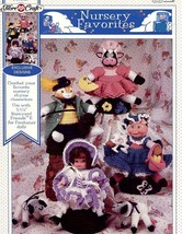 An item in the Crafts category: Nursery Favorites Doll Outfits Fibre Craft Crochet Pattern RARE 30 Days To Pay!