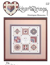 Heartspun Memories HeartStrings Cross Stitch Pattern RARE - 30 Days to Pay! - $6.27