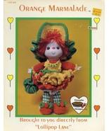 Orange Marmalade Doll Dumplin Designs Crochet Pattern/INSTRUCTIONS - $3.57