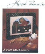 Place in the Country Barn Scene Goose Vanessa Ann Sewing Pattern 30 Days... - $3.57