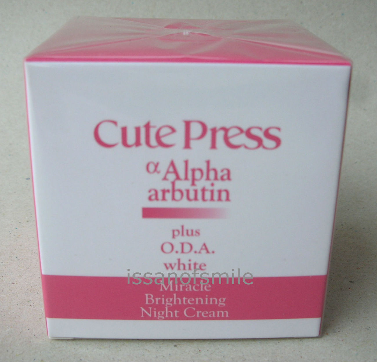 30g. Cute Press Alpha arbutin White Brightening Night Cream