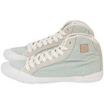 Fila All Denim Lace Up Fashion Denim Sneakers (7.5, CLOUD) - $29.44