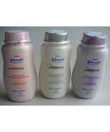 3x50g. JOHNSON'S FACE POWDER SOFT SMOOTH & NATURALLY UV WHITE & AROMA RE... - $13.00