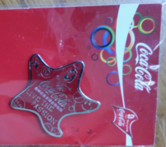 Beijing 2008 Olympic Games Coca Cola Pin, Original, New - $5.95