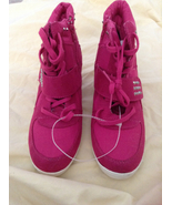Stevie's High-top Girls Heeled Sneakers Brand New Size 6 - $15.00