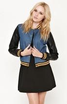 WOMEN/'S//JRS  OBEY Ramblin Rose Bomber BLACK Jacket FAUX FUR COLLAR  NEW $165