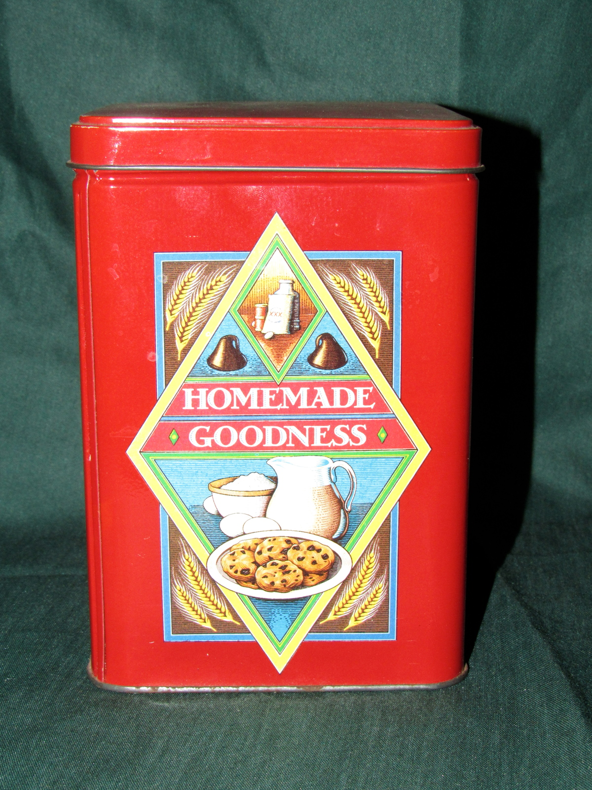 Vintage Nestle Toll House Collectible Storage Containers - Cookie Tins
