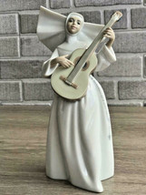 Lladro 01006406 Sister with Guitar Porcelain Figurine Retired New  - $168.30