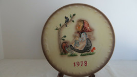 M.I. Hummel Annual Plate 1978 Happy Pastime - $5.89