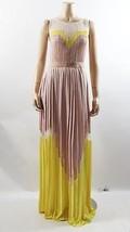 New Auth Bcbg Maxazria Kathrine Color Black Dress In Nude/Lemon $368 - $155.00