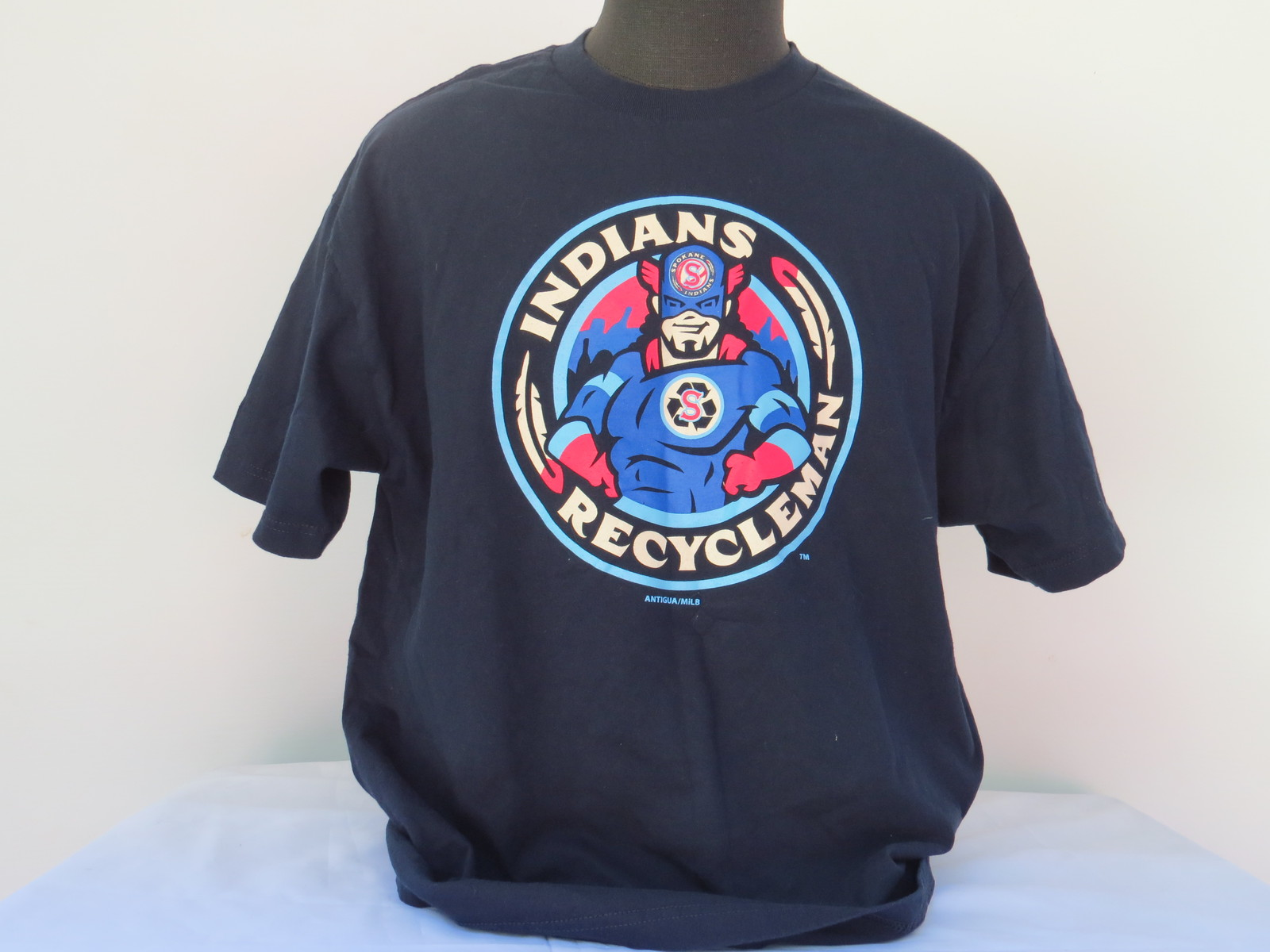 Primary image for Spokane Chiefs Baseball Team T-shirt - Recycle Man Graphic - Men's XL !!