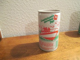 Louisiana LA Turning 7up vintage pop soda metal can Lake Pontchartrain - $10.99