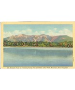 Majestic Peaks of Franconia Range from Lonesome Lake, White Mountains po... - $4.99