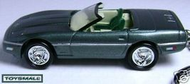 KEY CHAIN RING GREEN CHEVY CORVETTE CONVERTIBLE C4 CVT - $39.95