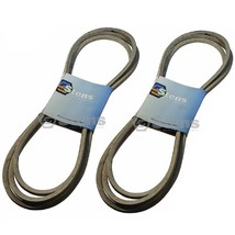 2 Pack OEM Deck Belt Covered Fits John Deere M158131 M154296 Z445 ZTrak mowers - $76.20