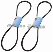 """2 Pack OEM Deck Belt Raw edge Fits Bobcat 2721477 Hydro walk behinds with 36"""" - $39.57"""