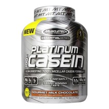 Muscletech essential 100  casein  3.75 lb chocolate thumb200