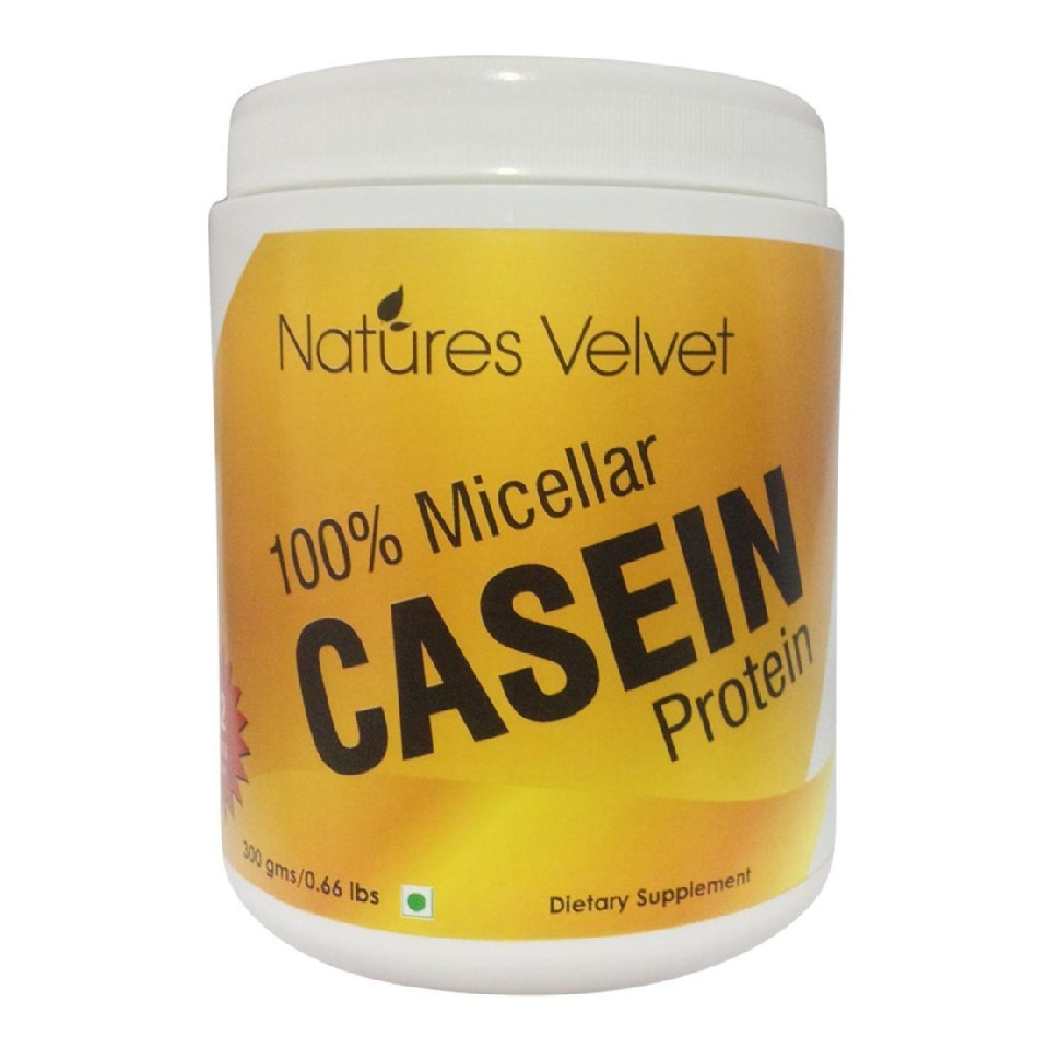 Natures Velvet 100 % Casein Protein, 0.3 kg Unflavoured