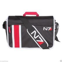 Bioware Mass Effect N7 Armour Stripe Messenger Bag - Padded, Adjustable ... - $132.81