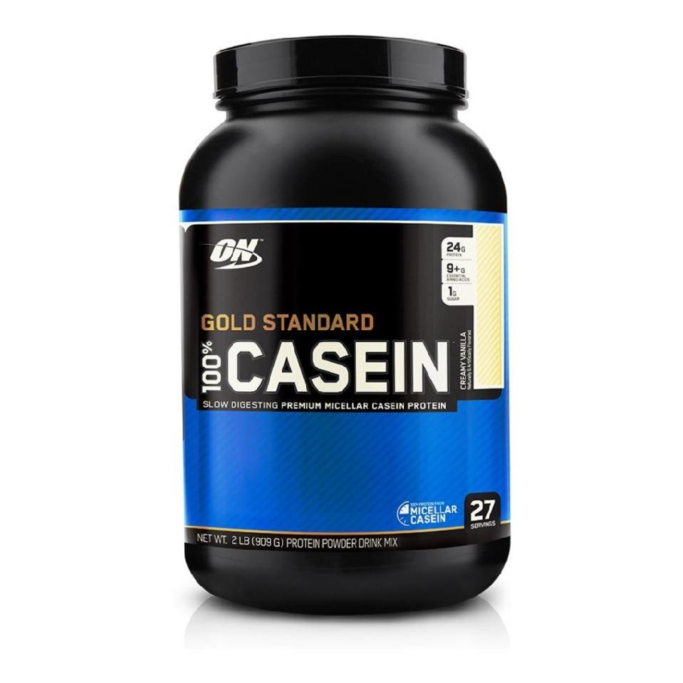 ON (Optimum Nutrition) Gold Standard 100% Casein, 2 lb Creamy Vanilla