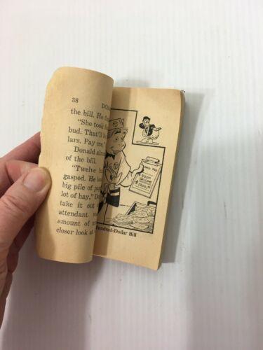 VINTAGE WHITMAN BIG LITTLE BOOK 1973 DONALD DUCK IN VOLCANO VALLEY W/ FLIP IT