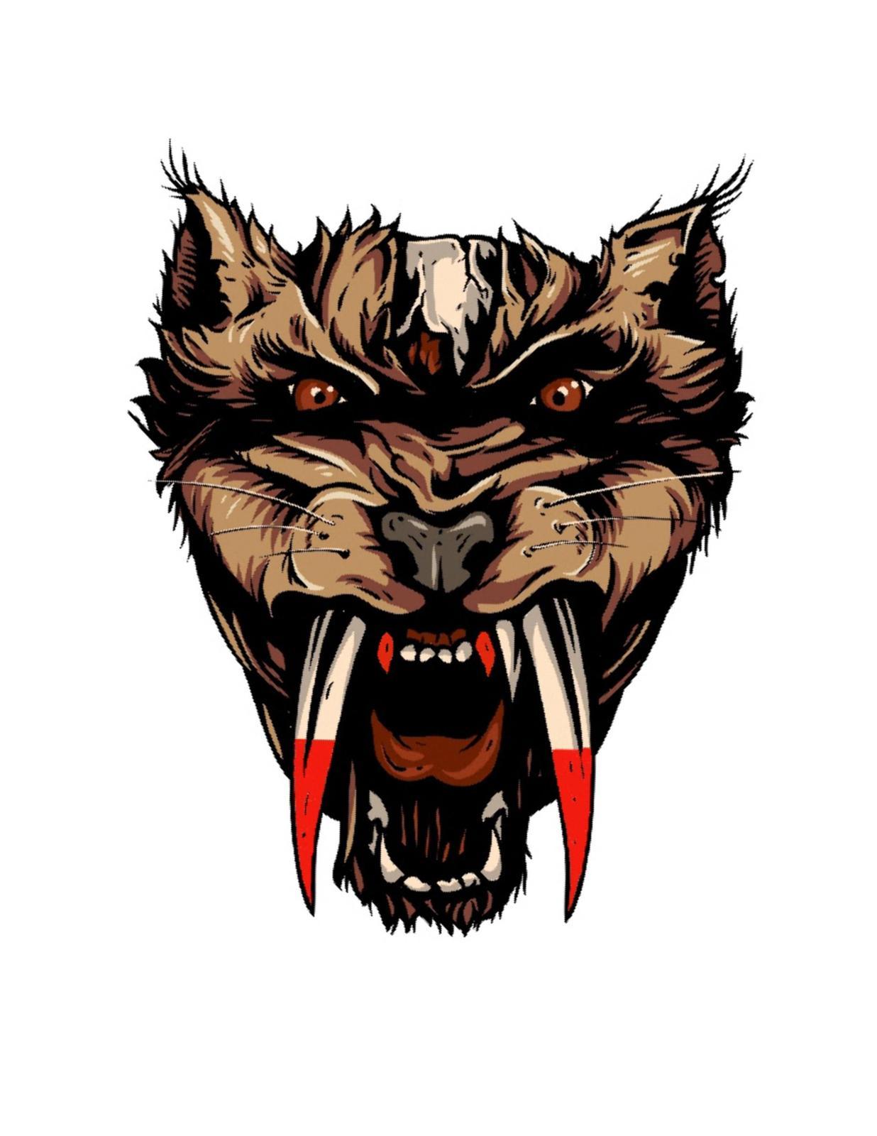 Wolf Mythical Creature1-ClipArt-Digital Art Clip-Digital. - $3.99