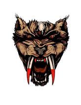 Wolf Mythical Creature1-ClipArt-Digital Art Clip-Digital. - $4.99