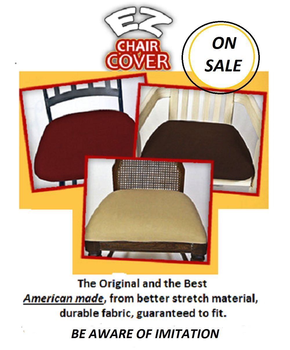 EZ CHAIR COVERS DINING ROOM CHAIR COVERS PACK OF 6 OR 4  : 57 from www.bonanza.com size 1000 x 1206 jpeg 114kB