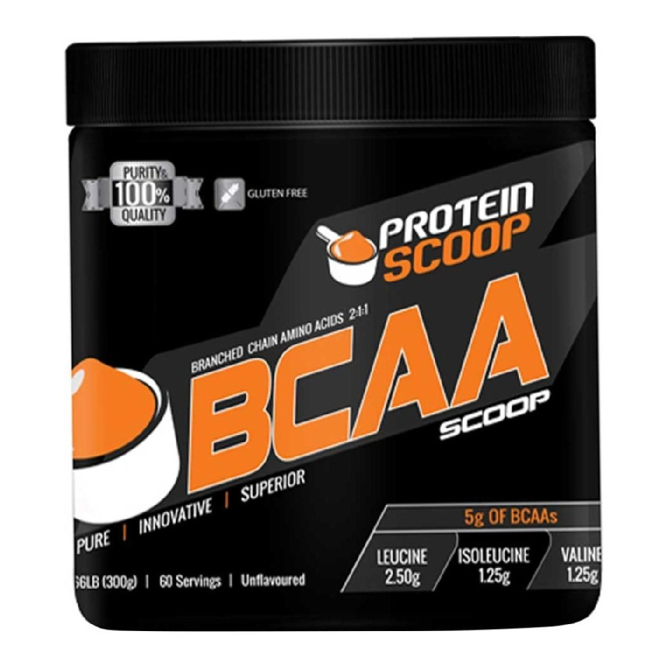 Protein Scoop BCAA, 0.33 lb Unflavoured
