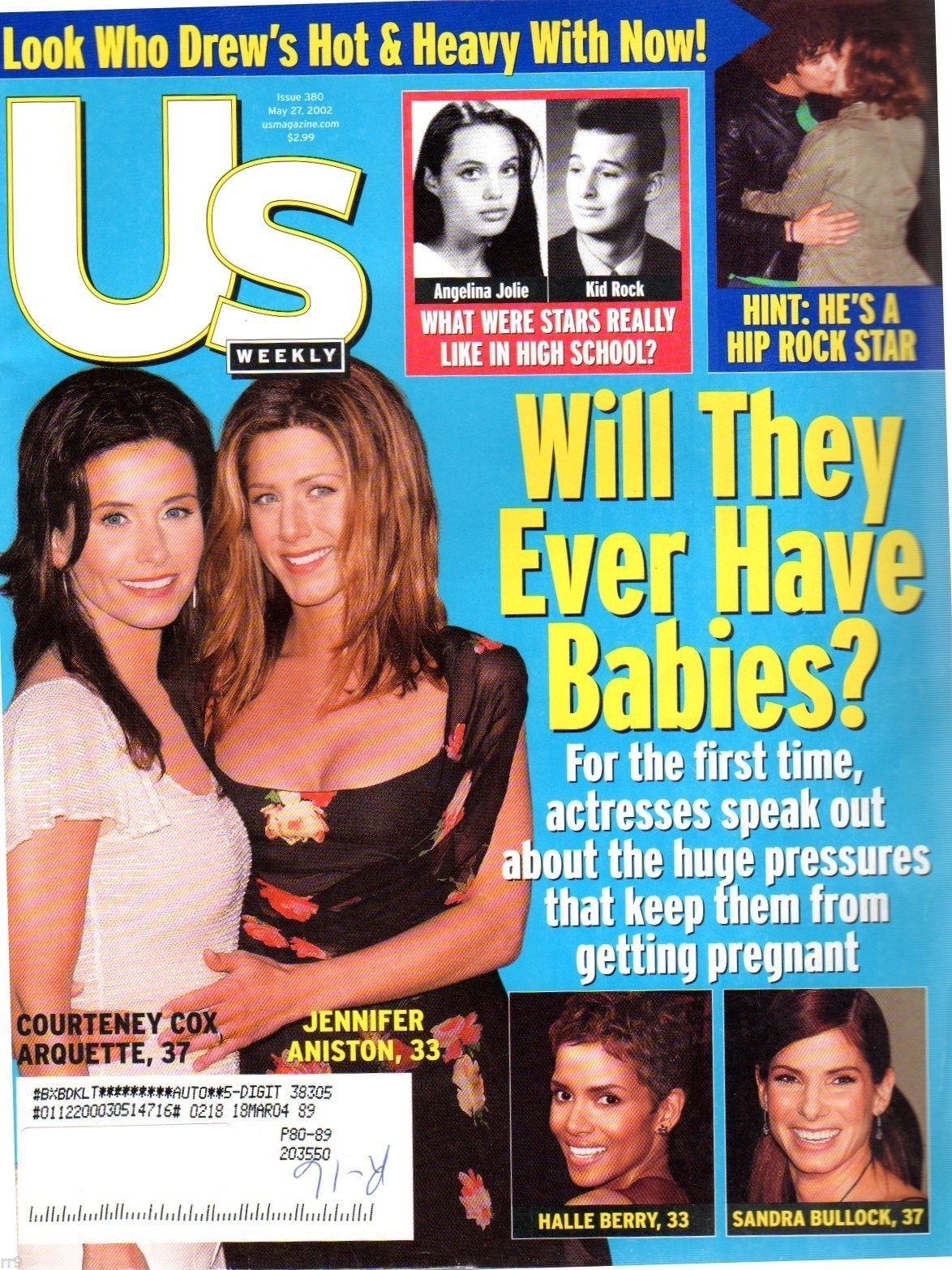 Primary image for U.S.News Magazine May 27, 2002 Cox, Aniston, Berry, Bullock, Barrymore