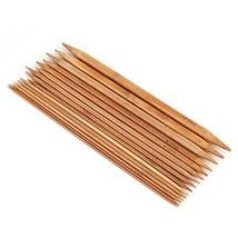 75Pcs Double Pointed Knitting Needles Set Bamboo Knitting Needles Sets for Handm
