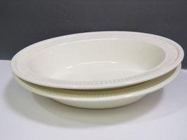 "2 Wedgwood Edme Creamware Oval Vegetable Serving Bowls 10.75"" image 8"