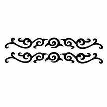 2 Pcs Armband Tattoos Individual Styles Tattoo Design Creative Fake Body Tattoos