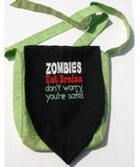Walking Dead Zombies Eat Brains Design Custom Adjustable Strap Messenger... - $29.95