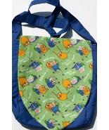 Adventure Time Design Custom Adjustable Strap Messenger Bag NEW - $29.95
