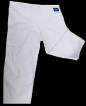 Adar 504 Drawstring Waist Uniform Scrub Pants Bottom White 3X Unisex New - $19.57