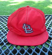 ST. LOUIS CARDINAL BASEBALL CAP SIZE MEDIUM - $7.91