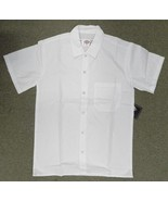 Dickies Short Sleeve Shirt XS CW020302A White Restaurant Kitchen Uniform... - $16.46