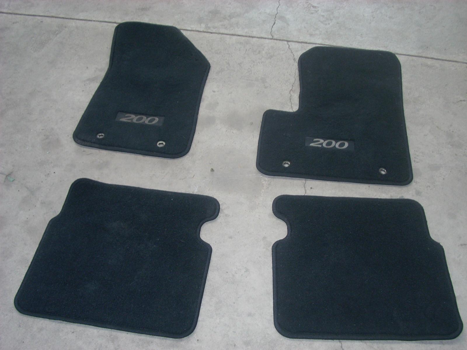 Floor Mats on 2012 Chrysler 200 Floor Mats