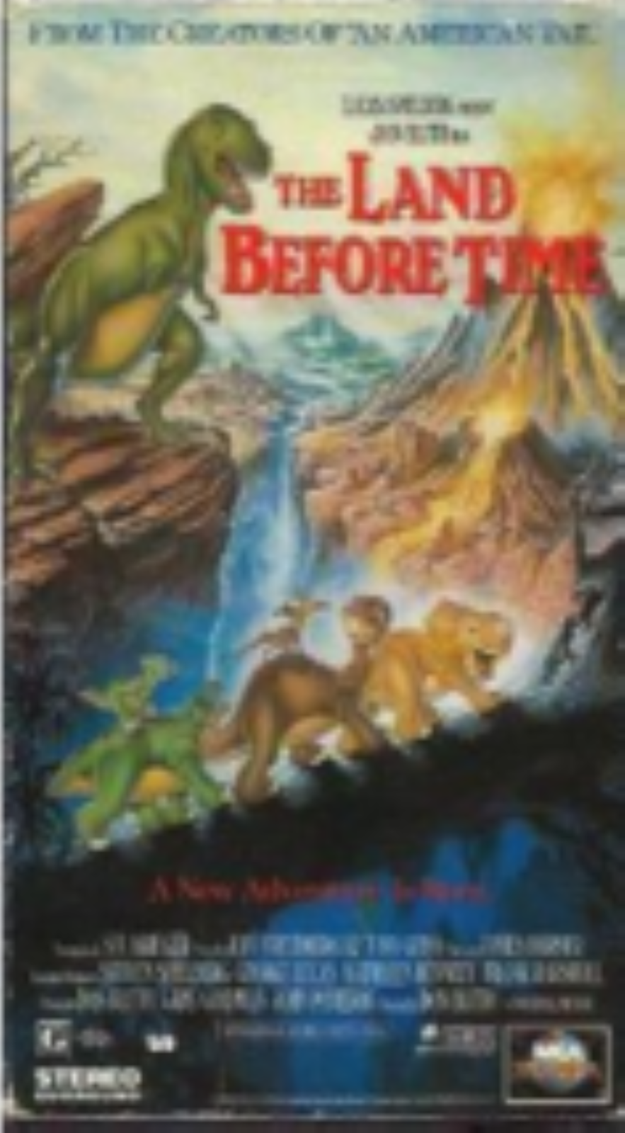 The Land Before Time--a New Adventure Is Born Vhs