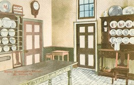 Martha Washington's Kitchen, Mt. Vernon, VA, early 1900s unused Postcard  - $3.99