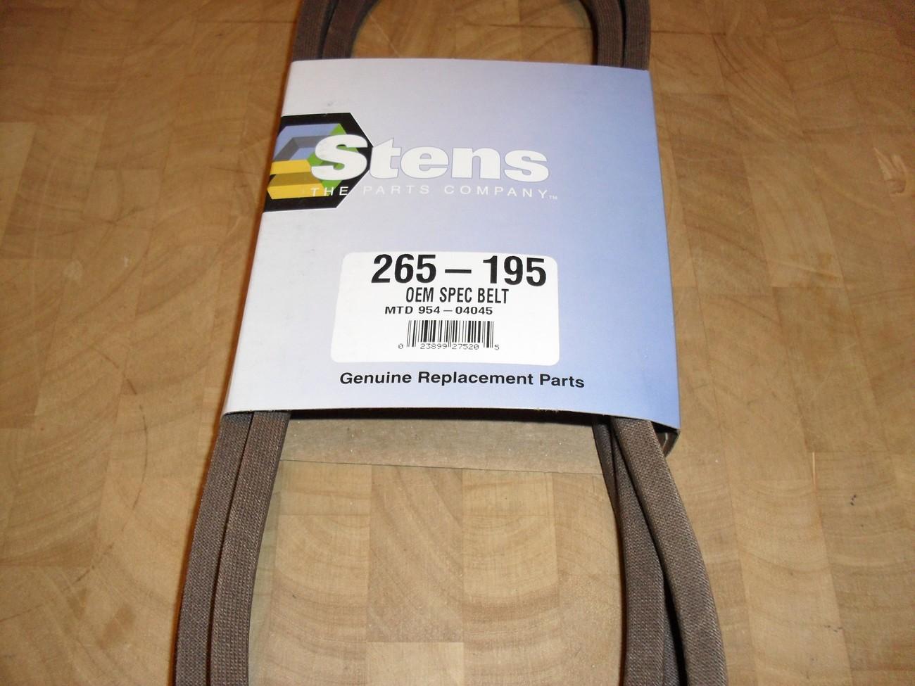 Toro LX420 deck belt 112-5800, 1125800
