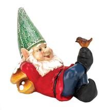 Lazy Gnome Solar Statue - $33.00