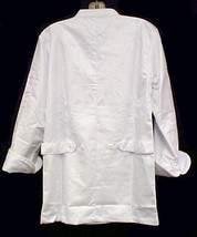 White Chef Coat Jacket CIA Culinary Institute America 3X New Style 9601 image 7