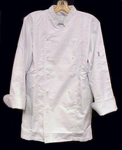 White Chef Coat Jacket CIA Culinary Institute America 3X New Style 9601 image 4