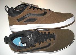 Vans Mens UltraRange Pro Teak Black White Suede Skate shoes Size 13 VN0A... - $67.31